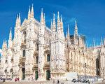 米兰主教座堂(Duomo di Milano,又称米兰大教堂)。(shutterstock)