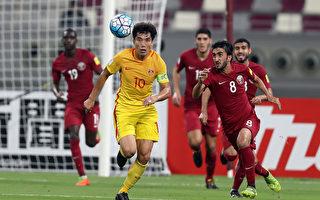 中国队现任队长郑智如今已37岁,曾四次代表中国队参加世界杯预选赛,都未能成功。 (KARIM JAAFAR/AFP/Getty Images)