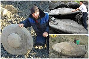 远古飞碟形圆盘屡出土 史前UFO坠毁地球?