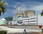 佛羅里達州南部比斯坎灣土耳其角(Turkey Point)核電站(Joe Raedle/Getty Images)