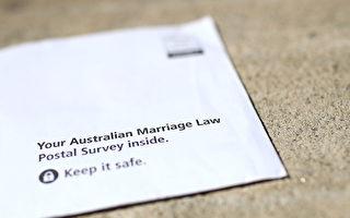 澳洲统计局(ABS)警告收到同性婚姻邮寄投票信的澳人,不要把投票信的照片传到社交媒体上。 (Cameron Spencer/Getty Images)