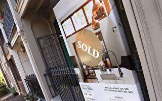 房價上漲讓悉尼家庭財富出現很大增長,但也加重了很多家庭的負債。 (WILLIAM WEST/AFP/Getty Images)