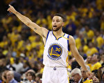 NBA金州勇士队当家球星斯蒂芬‧库里(Stephen Curry)。 (Ezra Shaw/Getty Images)