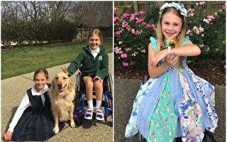 运动意外造成半身瘫痪 7岁女孩靠毅力站起来