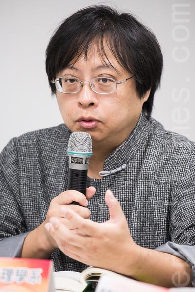 台大国家发展研究所兼任副教授、华人民主书院董事曾建元谈到,台大是台湾非常具有意义指标的大学。(大纪元资料照)