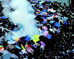 3年前的9月28日,警方向示威人士施放催泪弹,伞运随即爆发;今日将会有团体举办纪念活动,并以水蒸汽模仿当日的催泪弹。(大纪元资料图片)