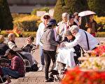 台湾民众的平均寿命为80岁,其中男性76.8岁、女性83.4岁;从六都来看,以台北市83.36岁最高。(陈柏州/大纪元)