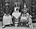 美國人在鞋盒裡發現的68張民國初期的老照片,轟動了全世界。(甘博/公有領域)