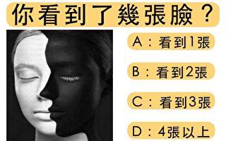 你看到几张脸 测测你内心对远距离恋爱的接受程度