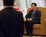 """韩正不管接下来会去哪里,""""上海书记""""或许是他所能达到的仕途顶峰了。(BERTRAND LANGLOIS/AFP/Getty Images)"""