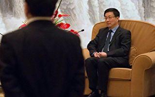 韓正不管接下來會去哪裡,「上海書記」或許是他所能達到的仕途頂峰了。(BERTRAND LANGLOIS/AFP/Getty Images)