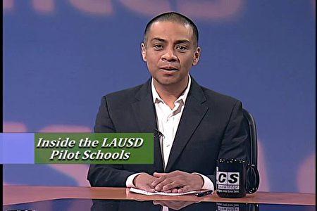 洛杉矶联合学区教委会主席罗德里格斯(Ref Rodriguez),星期三(13日)被指控犯下串谋、伪证及提供虚假文件等重罪。(LAUSD网站)