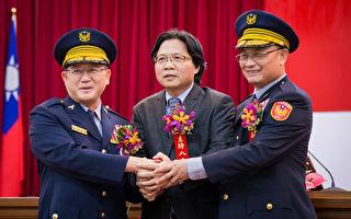 台北市警局长交接  柯P缺席抗议