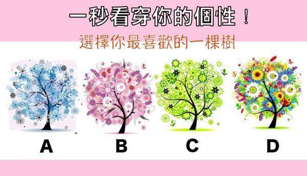 選擇你喜歡的樹,看穿你的個性!(大紀元製圖)