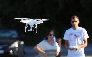 在纽约,除了公园之外,无人机在任何地方都不允许使用。 (Bruce Bennett/Getty Images)