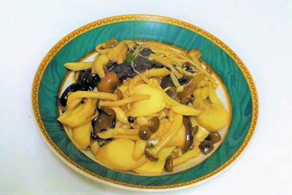 奥莉薇小姐的厨房:抗癌化疗餐-鲜炒五菇