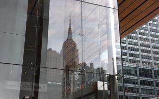 白思豪的节能计划或将影响纽约超过1万座大楼。 (TIMOTHY A. CLARY/AFP/Getty Images)