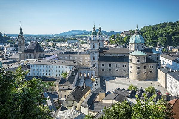 薩爾茨堡大教堂(Salzburger Dom)(薩爾茨堡旅遊局提供)