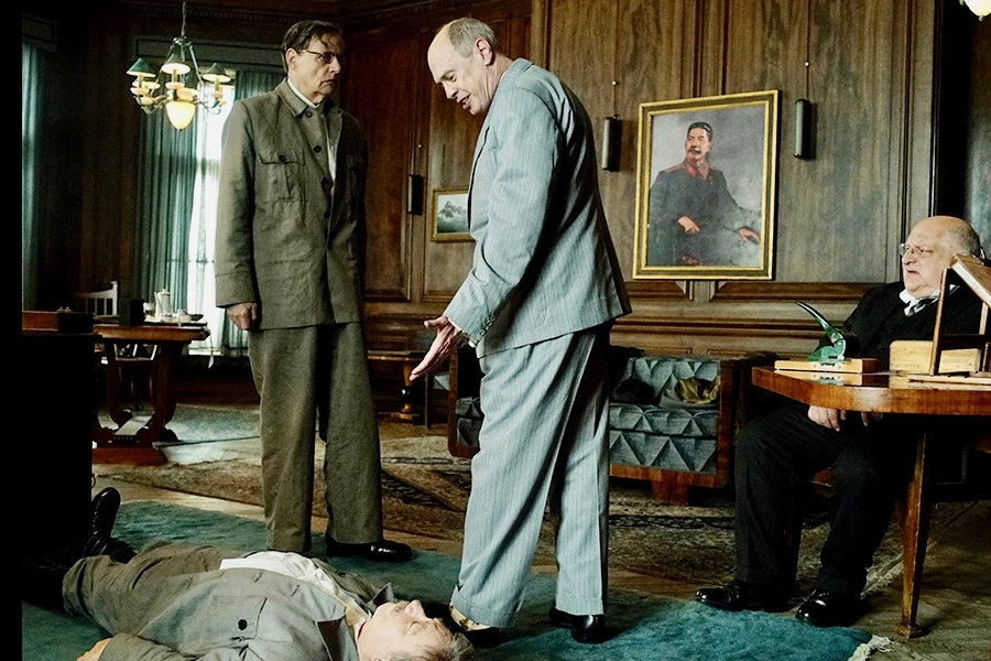 欧洲喜剧片《斯大林之死》(The Death of Stalin)剧照。(TIFF提供)