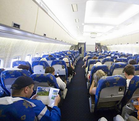 一架飛機的客艙。(Fotolia)