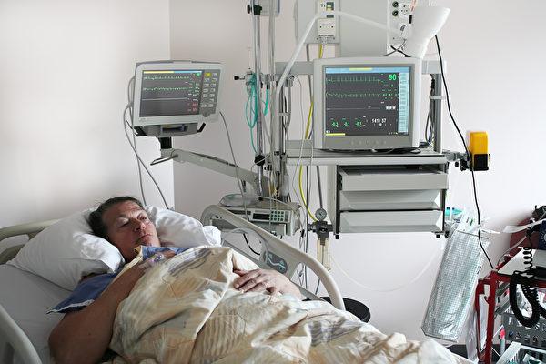 這是醫院裡的心臟病病患。(Fotolia)