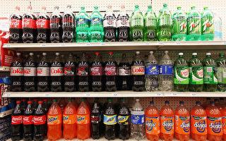 貨架上的碳酸飲料。  (Photo by Mario Tama/Getty Images)