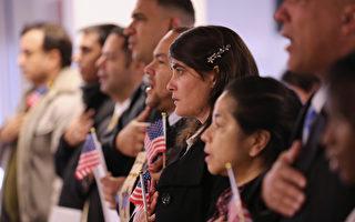 美國第九巡迴上訴法院三名法官週四(9月7日)達成一致裁決,和美國機構有「真實關係」(bona fide relationship)的難民,不受總統川普(特朗普)移民限制令的影響,可以入境美國。(John Moore/Getty Images)