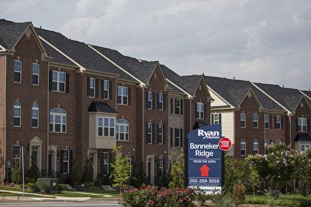 美國房地產經紀人協會首席經濟學家勞倫斯·雲認為,美國房產市場前景良好。(Drew Angerer/Getty Images)
