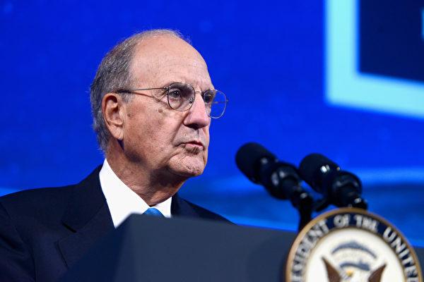 美國參議院前多數黨領袖米切爾(George Mitchell)週三(9月6日)說,美國不能指望中共幫助解決朝鮮核武威脅問題。 (Leigh Vogel/Getty Images for Concordia Summit)