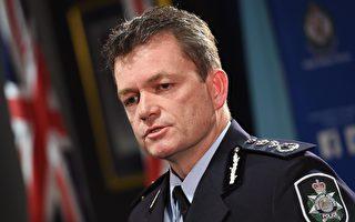 澳大利亞聯邦警察局局長寇文(Andrew Colvin)正在北京參加國際刑警組織會議。(WILLIAM WEST/AFP/Getty Images)