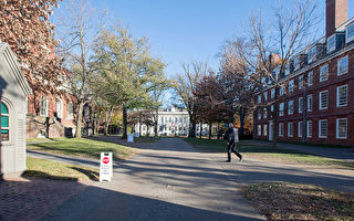 哈佛大学校园。(Scott Eisen/Getty Images)