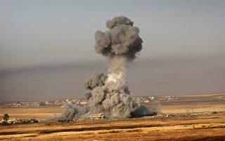 以美国为首的联军已经夺取了被ISIS占据的叙利亚拉卡市(Raqa)70%的土地。(SAFIN HAMED/AFP/Getty Images)