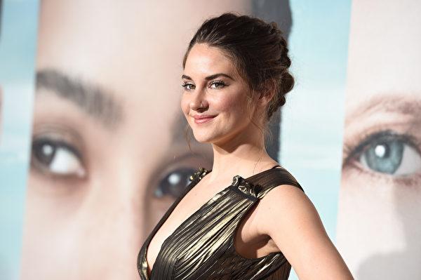 以HBO《美丽心计》(Big Little Lies)获得迷你影集或电视电影最佳女配角的雪琳·伍德利(Shailene Woodley)说她不看电视。(Kevork Djansezian/Getty Images)