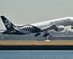 紐航大量航班被取消。(PETER PARKS/AFP/Getty Images)