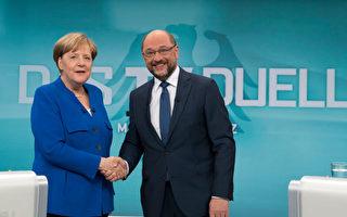 德国大选电视辩论 默克尔领先