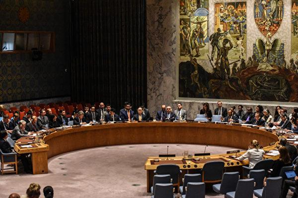 9月11日,联合国安理会通过新的对朝制裁决议。(Stephanie Keith/Getty Images)