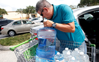 面對自然災害,需要提前準備好應急物資。(Brian Blanco/Getty Images)