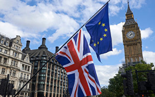 脫歐談判雙方在分手費的問題上觀點分歧嚴重。( NIKLAS HALLE'N/AFP/Getty Images)