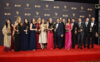 當地時間9月17日晚,第69屆艾美獎頒獎禮在美國洛杉磯微軟劇院揭幕。