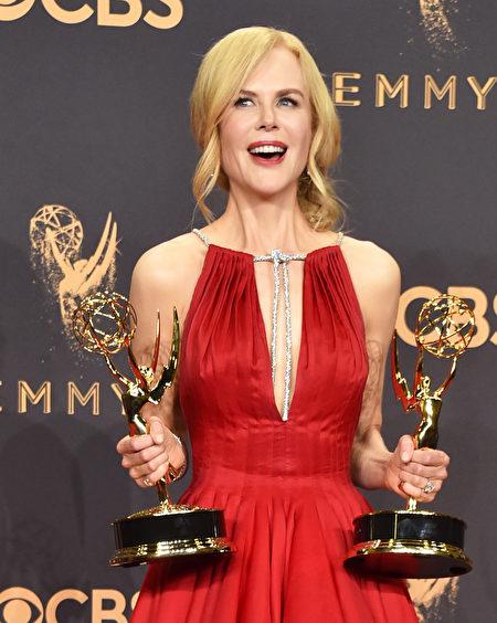 妮可·基德曼(Nicole Kidman)。(Alberto E. Rodriguez/Getty Images)