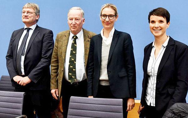 德國大選最大黑馬 選項黨4年內異軍突起