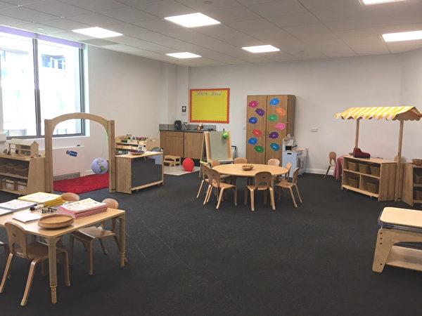 欧洲第一所私立中英双语预备学校教室(舒雅/大纪元)
