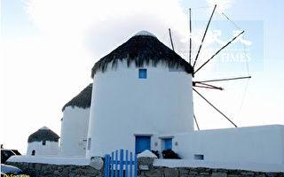 爱琴海之旅(16)Mykonos岛──现代的酒神乐土