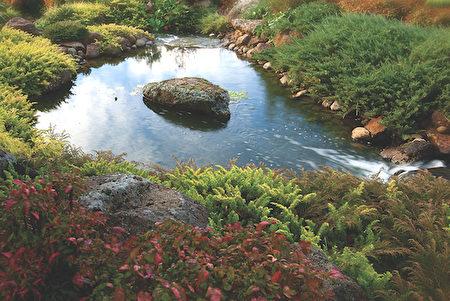 松鶴園景色優美,能提供殯葬與火化服務。(松鶴園提供)