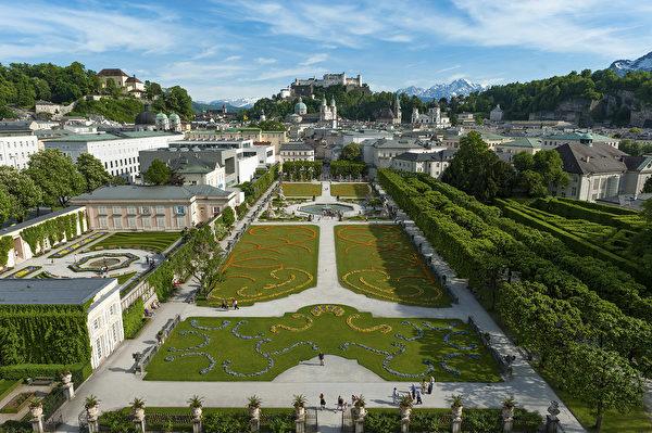 米拉貝爾花園(薩爾茨堡旅遊局提供)