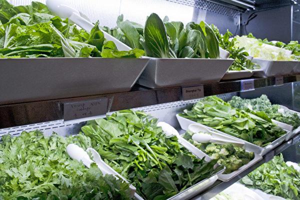 40餘種蔬菜應季新鮮。(餐廳提供)