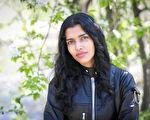 印度裔超模普贾·莫尔(Pooja Mor)于纽约中央公园。(Samira Bouaou/Epoch Times)