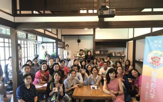 朱国珍分享《厨房的八字》 宜兰文学馆讲座登场