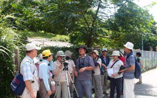 鳥類生態自然觀察的野外經驗分享。(羅東林管處提供)