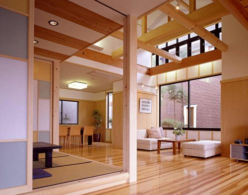 木造屋内装风格之一。(图:诠鸿国际提供)